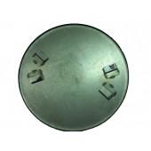 Затирочный диск 605 мм  для 2-х роторной машины, угол наклона кромки 90°
